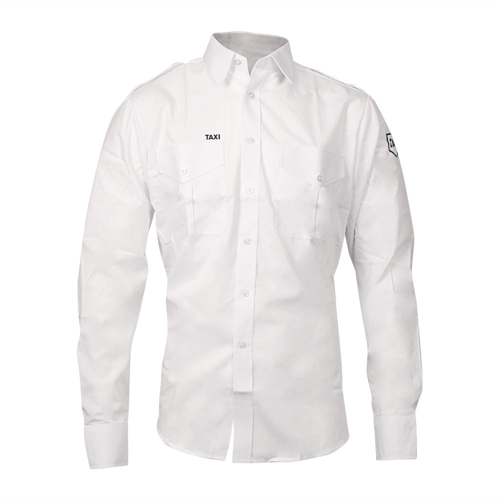 4badc2c1 Hjem > TAXI Standard > Tynn hvit herreskjorte - lang arm